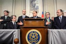 Berlusconi, dispuesto a un gobierno de coalición con Bersani
