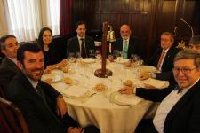 Ambrogio acerca al Propeller Club del País Vasco sus operativas multimodales en el Arco Atlántico