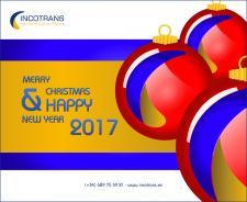 FELICES FIESTAS Y PRÓSPERO AÑO NUEVO 2017 / MERRY CHRISTMAS AND HAPPY NEW YEAR 2017