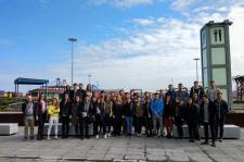 Alumnos de Cámarabilbao University Business School (CUBS) visitan el Puerto de Bilbao
