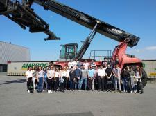 Ambrogio Intermodal recibe a 39 alumnos de Logística y Transporte de Cámarabilbao University Business School (CUBS)