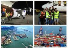 Los alumnos de Logística y Transporte Internacional de la Cámara de Comercio de Bilbao (EUCCB) visitan infraestructuras de transporte