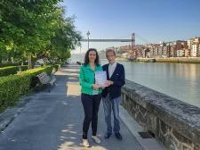 Mikel Mauleón Torres y Marta Prado Larburu promocionan su libro