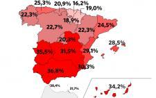 España supera por primera vez los seis millones de parados